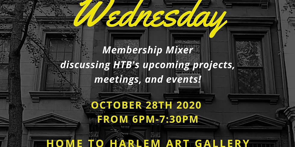 Harlem Eat Out Wednesday Oct 28th, 2020