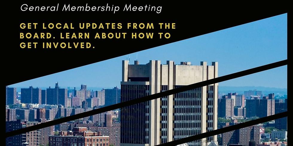 May General Memebership Meeting
