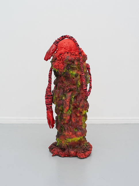 Zander 2 - Found objects, foam, paint, g