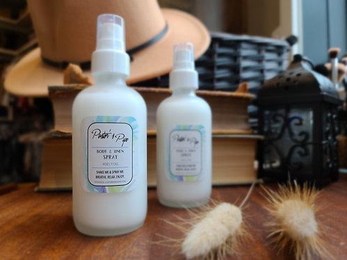Body & Linen Sprays
