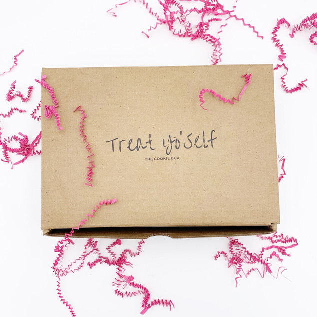 TREAT YO'SELF THE COOKIE BOX