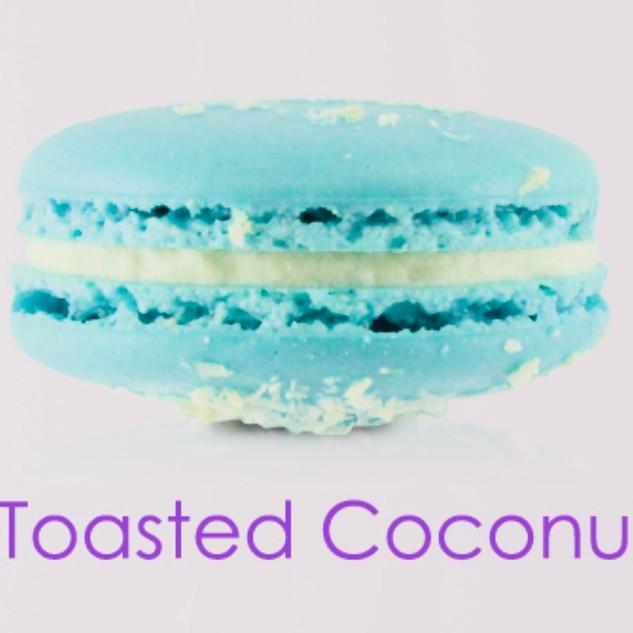 TOASTED COCONUT MACARON