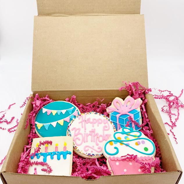 HAPPY BIRTHDAY COOKIE BOX 1