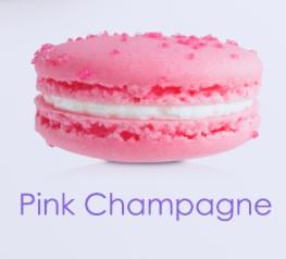 PINK CHAMPAGNE MACARON
