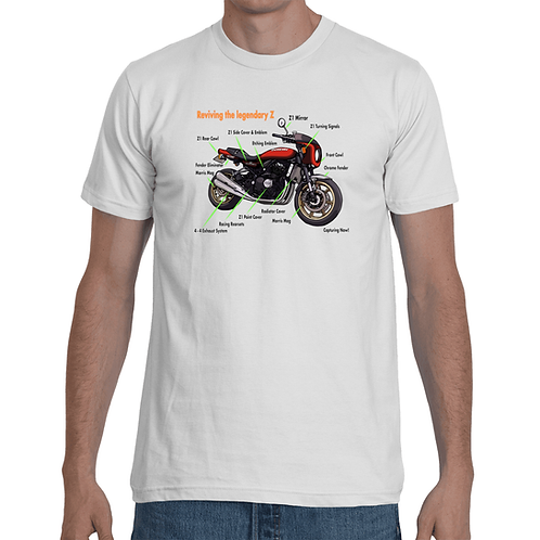 Z900RS Parts List Weight T-shirts