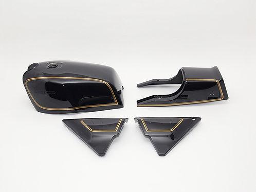 Made to order KZ1000MK2 & KZ750FZ exterior set A4 Ebony