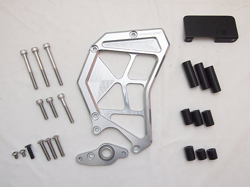 Z900RS Sprocket cover silver
