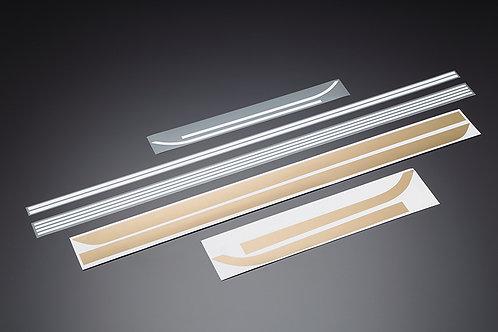 Z900 stripe stickers gold/white