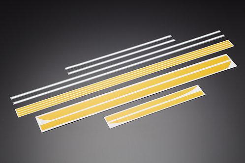 Z900 stripe stickers yellow/white