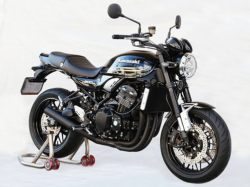 Z900RS 4-1 exhaust system with short end
