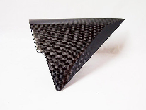Z1R left side cover Carbon