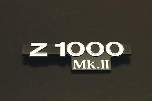 Kawasaki Z1000MK2 side cover emblem 1pcs by Doremi Japan