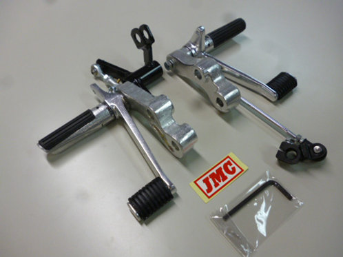 1972-75 Z900 JMC Targa Vintage Racing Foot Pegs for Rear Drum Brake