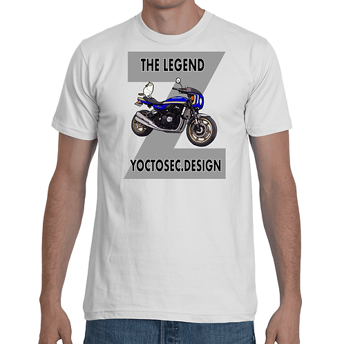 Z900RS Blue Tigercat Weight T-shirts