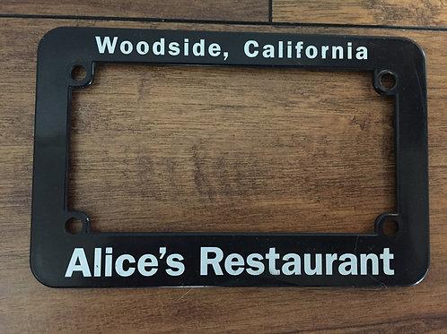 License cover Alice's restaurant