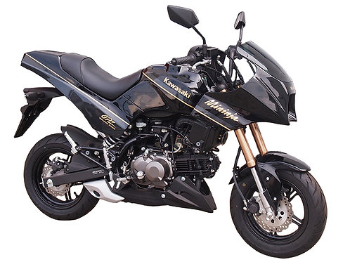 Made to order Mininja Z125 exterior kit reviving GPZ900R with paint