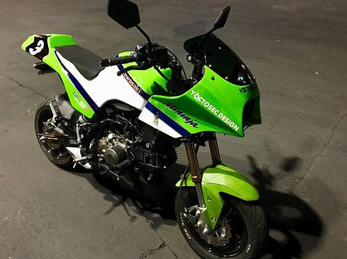 Mininja Z125 Complete (Used Z125 2,000 mile + new exterior kit)