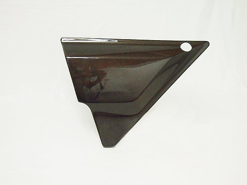 Made to order KZ1000MK2 & KZ750FZ Side Cover Carbon left