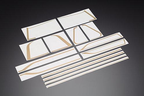 KZ1000MK2 Z750FX-I exterior line sticker set