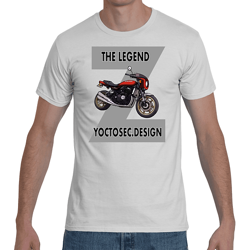 Z900RS Red Heavy Weight T-shirts