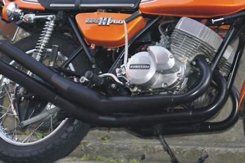 Made to order MACH SS750 H2 Racing exhaust system