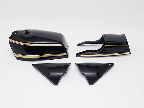 Made to order KZ1000MK2 & KZ750FZ exterior set H Black