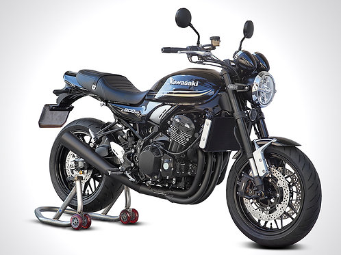 Z900RS 4-1 exhaust system with divergent end