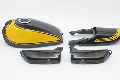 Made to order Z900 exterior set yellow fire ball airplane fuel cap