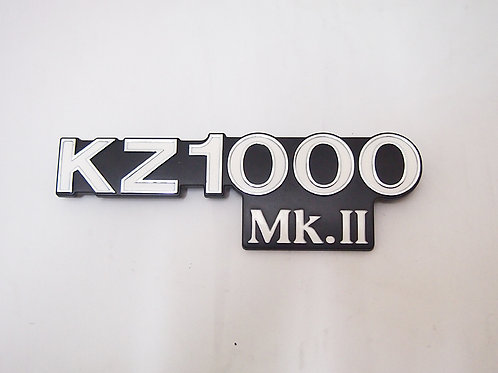 Kawasaki KZ1000MK2 side cover emblem 1pcs by Doremi Japan