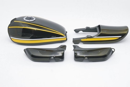 Made to order Z900 exterior set yellow tiger airplane fuel cap