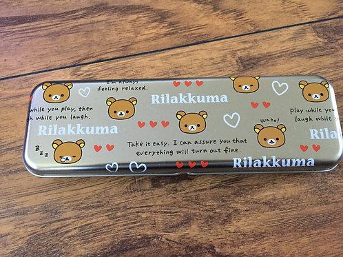 Japanese Pen Case Rilakkuma