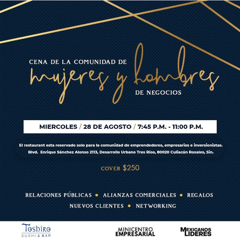 Cena de Negocios e Inversionistas Agosto.
