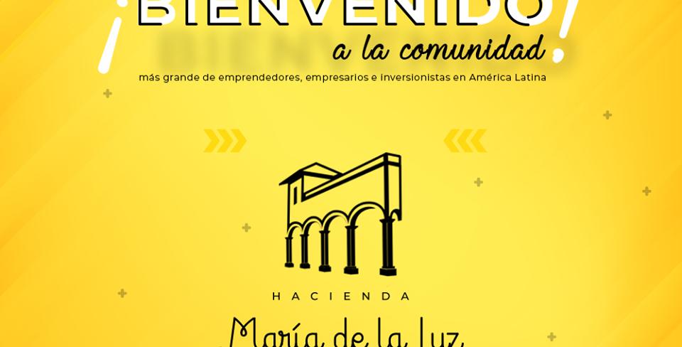 Hacienda Maria de la Luz (300 personas)