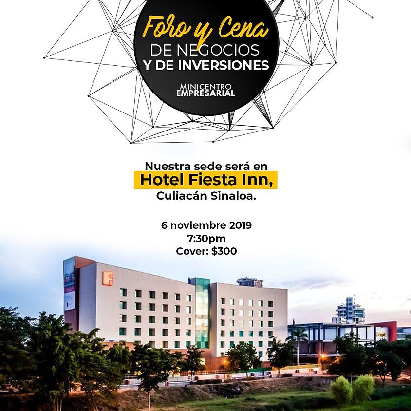 """Foro y Cena: """"Ciudad de negocios e inversionistas"""""""
