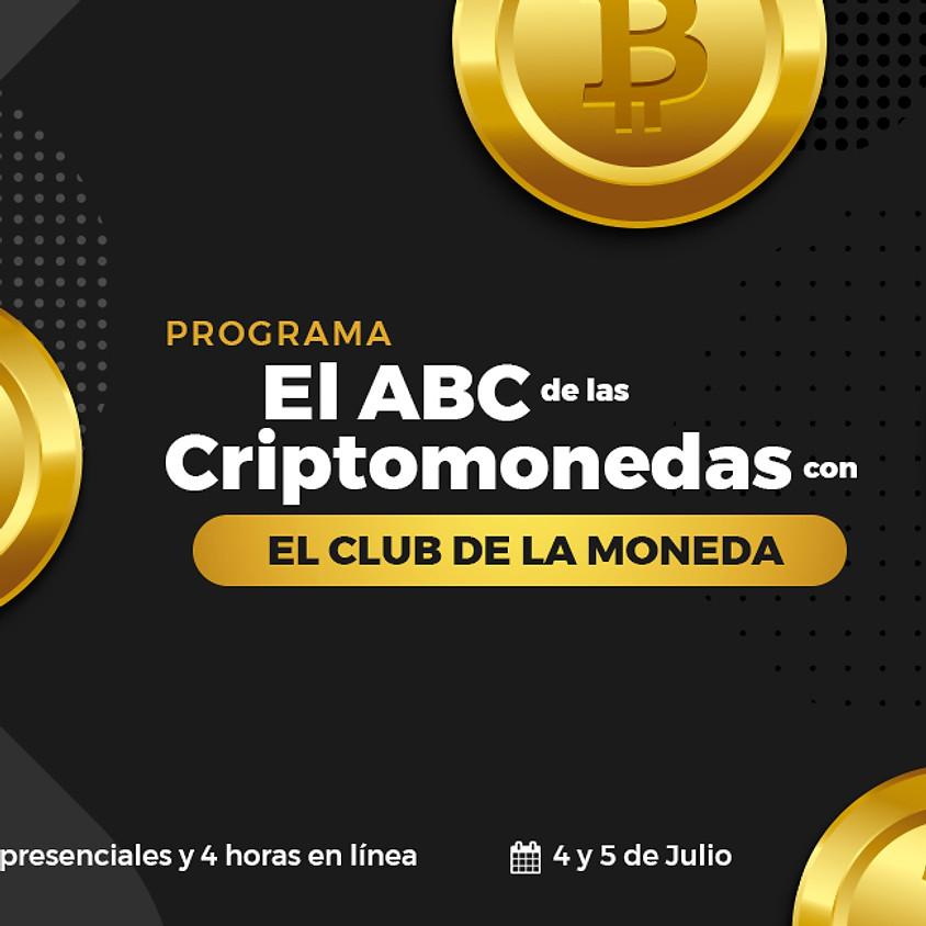 Programa el ABC de las Criptomonedas con El Club de la Moneda.