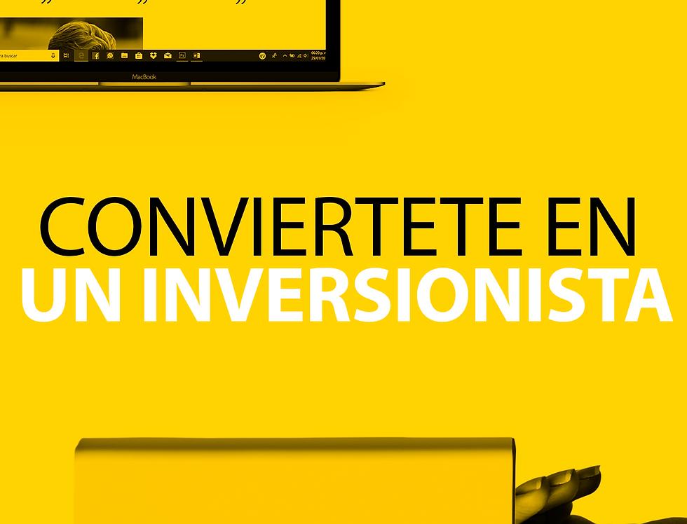 PROGRAMA CONVIÉRTETE  EN UN INVERSIONISTA EXITOSO:
