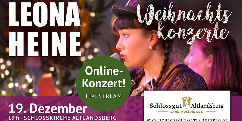 Weihnachtskonzert Leona Heine  ONLINE LIVE