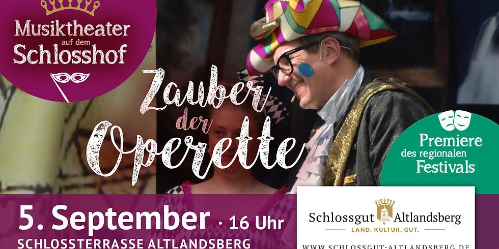 Operettenrevue auf dem Schlosshof
