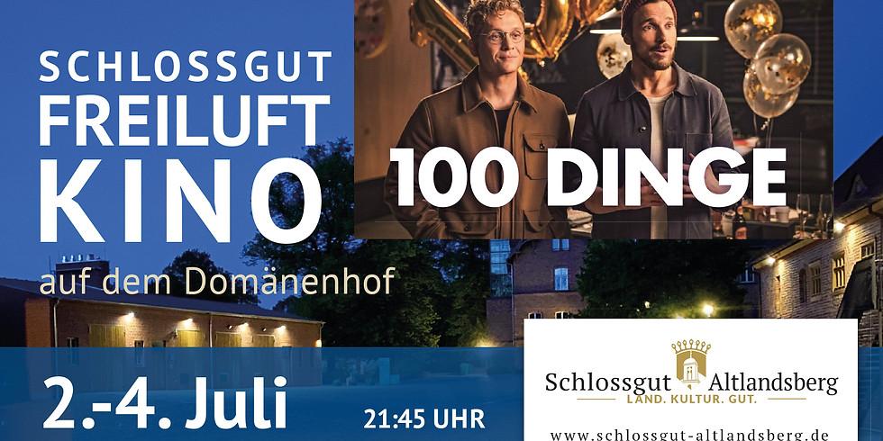 Schlossgut-Freiluftkino: 100 Dinge