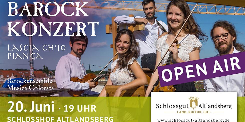Barockkonzert auf dem Schlosshof