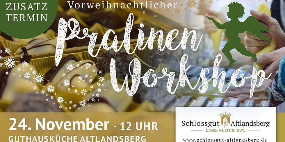 Vorweihnachtlicher Pralinen - Workshop Zusatztermin