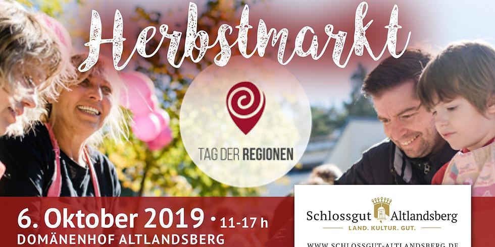 """Herbstmarkt zum """"Tag der Regionen"""""""