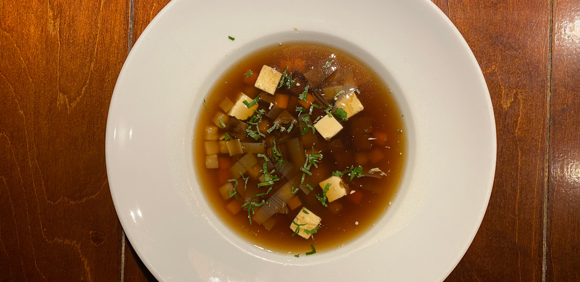 Rinderconsomme