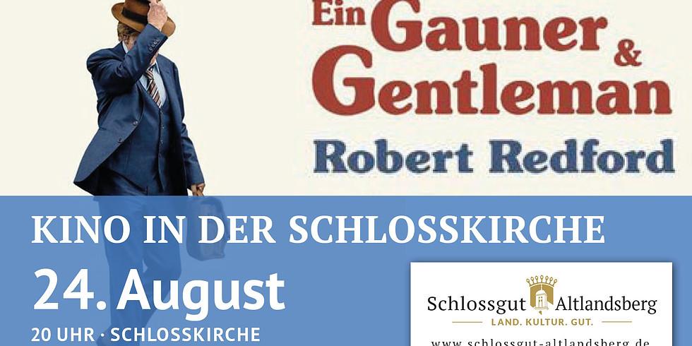 Kino in der Schlosskirche: Ein Gauner & Gentleman