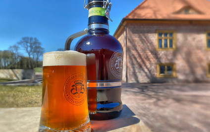 Bier frisch vom Schlossgut