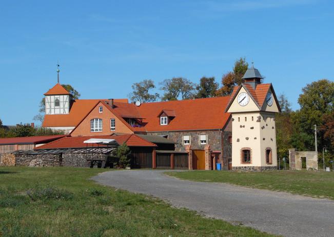 Ehemaliges Gutshof-Gelände