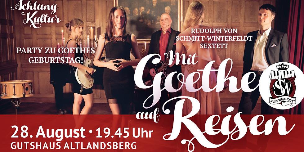 Mit Goethe auf Reisen - Literarischer Fusion-Jazz