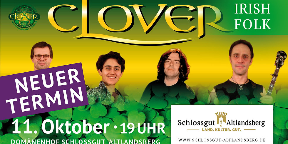 Clover - Irish Folk // NEUER TERMIN