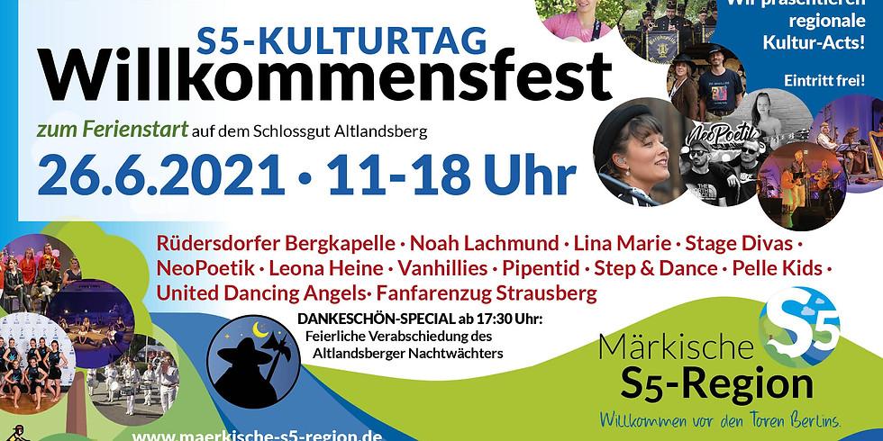 Willkommensfest - Der S5-Kulturtag