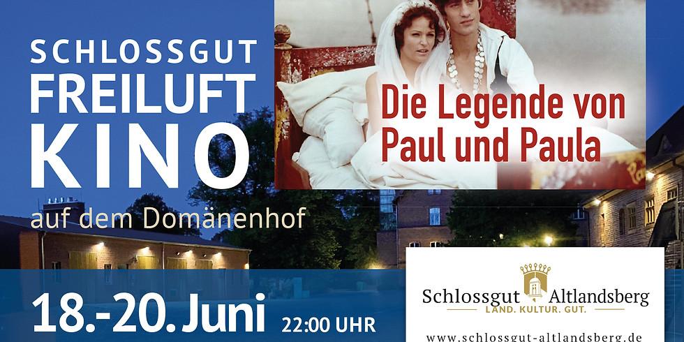 Schlossgut-Freiluftkino: Die Legende von Paul und Paula
